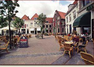 Centrum Amersfoort | Terrasjes aan de Hof